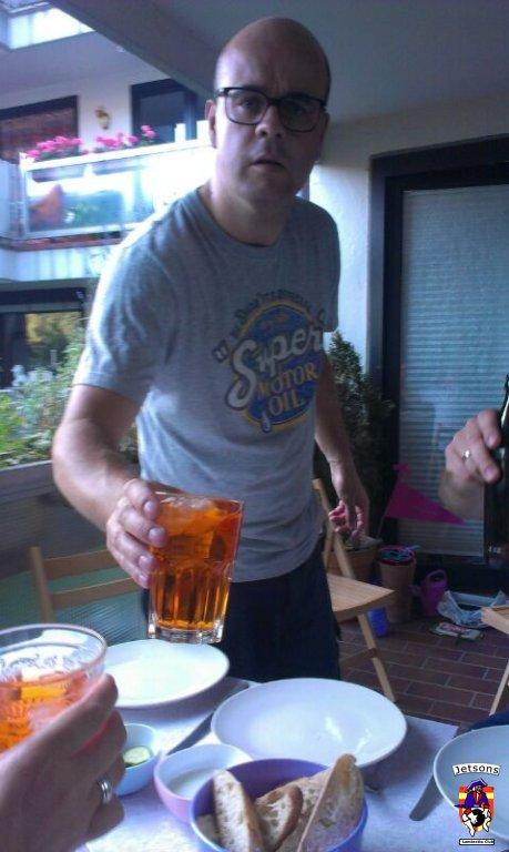 Bier reichen