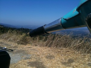 Sicht auf die South Bay von Highway 35