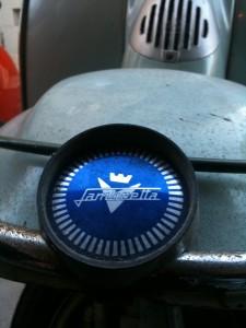 Funky Lambretta badge